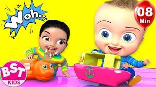 Baby Surprise family Song | Nursery Rhyme & Kids Songs