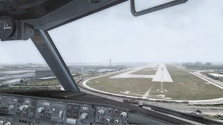 getlinkyoutube.com-FSX 2015 | Core i7 @ 3.4 GHz | 737 Landing in Miami