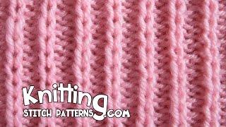 getlinkyoutube.com-Slip Stitch Rib P2 K1 - Easy