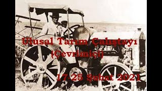 ULUSAL TARIM ÇALIŞTAYI - 3.GÜN