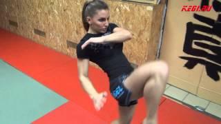 """getlinkyoutube.com-MMA-KEGI: Alexandra """"Stitch"""" Albu workout (made by kendziro)"""