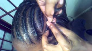 Flat Twist Into A Bun (Part 1)