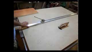 getlinkyoutube.com-Самодельный распиловочный станок. Homemade table saw.