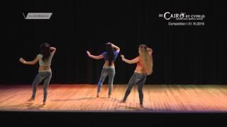 getlinkyoutube.com-Belly Dance in Limassol / Стрит шааби