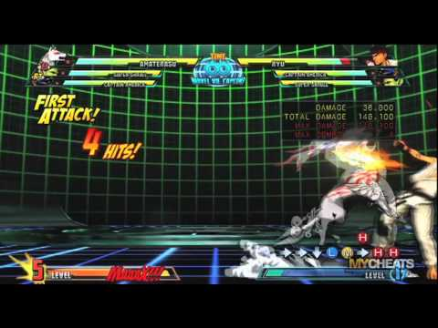 Marvel vs. Capcom 3 Amaterasu 524K Damage Combo Strategy Video