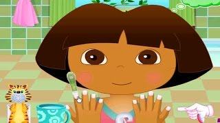 getlinkyoutube.com-Baby Dora Hygiene Care -  Dora The Explorer Game