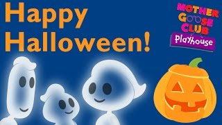 getlinkyoutube.com-Ghost Family | Halloween Children's Song With Mother Goose Club Playhouse