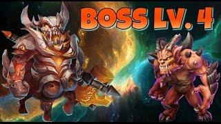Castle Clash Boss 4!