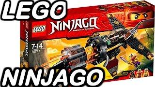 getlinkyoutube.com-【LEGO ninjago】レゴニンジャゴーのおもちゃ 70747 リボルバーブラスター BABY-Ch