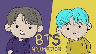 BTS Animation   The Game Show (PART 1)