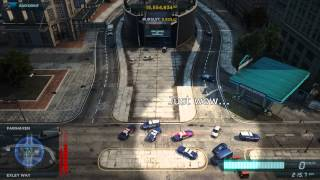 getlinkyoutube.com-NFS Most Wanted(2012): Stupid Cops - Timelapse