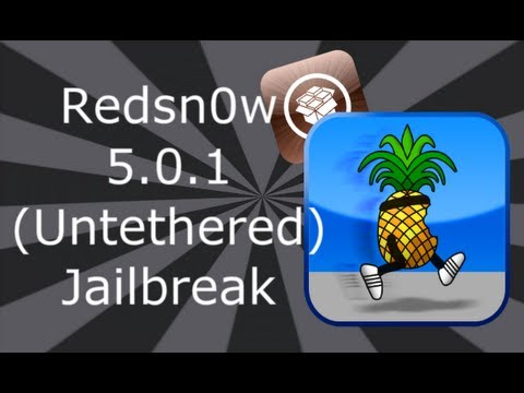 NEW Redsn0w 5.0.1 Untethered Jailbreak iPhone, iPod Touch & iPad