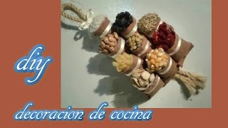 getlinkyoutube.com-*DIY* DECORACION  DE COCINA O REFRIGERADOR.