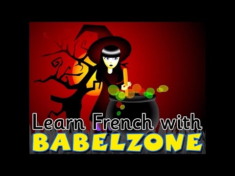 Babelzone French song - 'Pour faire une soupe' - Halloween themed!