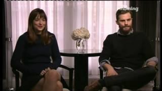 50 Shades - Dakota Johnson and Jamie Dornan interview