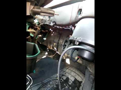 Замена радиатора печки пежо 106