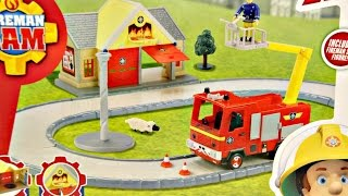 getlinkyoutube.com-Fire Station & Jupiter / Remiza Strażacka i Jupiter - Fireman Sam - Character - 05427