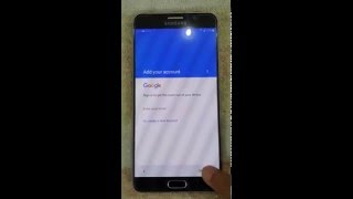 getlinkyoutube.com-Bypass Remove Google Account Galaxy Note 5 Android 6.0 Marshmallow
