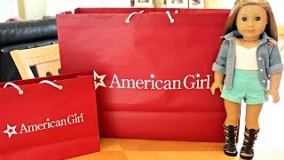 getlinkyoutube.com-Opening American Girl Doll Haul From AGP Seattle!