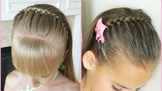 getlinkyoutube.com-Lace Braid Headband / Bonita Hair Do