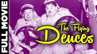 getlinkyoutube.com-Flying Deuces Full Movie Now Remastered and Colorized | Laurel And Hardy | Hollywood Comedy Movies