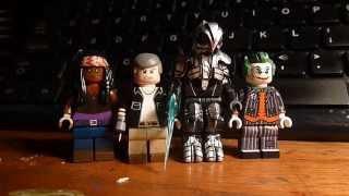 getlinkyoutube.com-Custom Lego Minifigure Updates (Arkham Joker, The Arbiter, The Walking Dead)