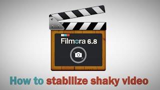 getlinkyoutube.com-How to stabilize shaky video: video stabilization newly added in Filmora