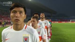 getlinkyoutube.com-Graziano Pelle debut all goals - Highlights Chinese Super League
