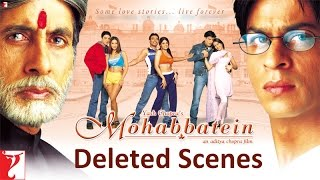 getlinkyoutube.com-Deleted Scenes - Mohabbatein