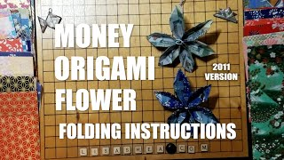 getlinkyoutube.com-Money Origami Flower Folding Instructions
