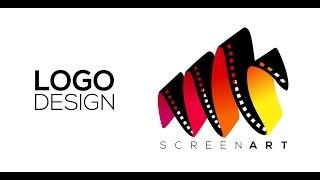 getlinkyoutube.com-Professional Logo Design - Adobe Illustrator cs6 (ScreenArt)