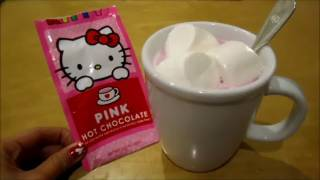 Happy Valentines Day! Pink Hot Chocolate and Mini Resin Update!