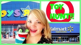getlinkyoutube.com-TOY HUNT!! Toys R Us Target Walmart Shopkins Zelfs Frozen Plants vs. Zombies