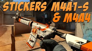 getlinkyoutube.com-CS:GO - Sticker Combinations: M4A4 / M4A1-S