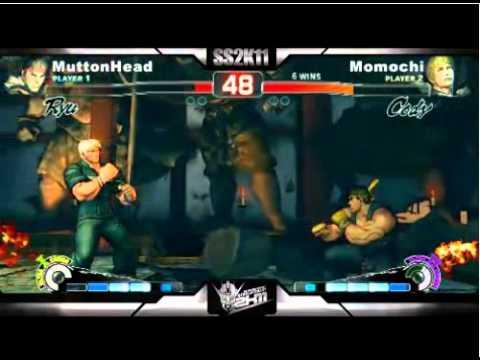 SS2K11 - SSF4 AE : Momochi (Cody) vs Muttonhead (Ryu)