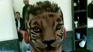getlinkyoutube.com-Friseur Mens World Köln Ehrenfeld Cut Master Adnan Okutan Tiger Look