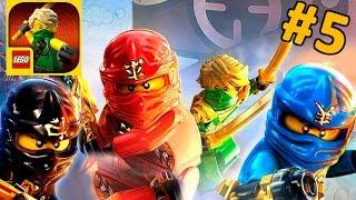 getlinkyoutube.com-Игра Lego Ninjago Tournament - обзор и прохождение на русском языке. Кока Плей