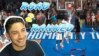 getlinkyoutube.com-Road To Ranked NBA 2K17 Play Now Online Ep.1 Houston Rockets Vs. Oklahoma City Thunder