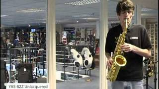 getlinkyoutube.com-Yamaha YAS 82-Z Alto Saxophones - Sax.co.uk Review