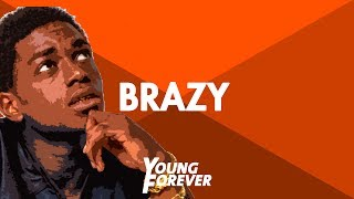 "getlinkyoutube.com-[FREE] Kodak Black Type Beat - ""Brazy"" 