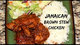 getlinkyoutube.com-HOW TO MAKE JAMAICAN BROWN STEW CHICKEN | The Jamaican Mother