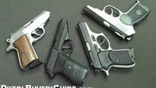 Four .380acp Pistols