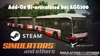 getlinkyoutube.com-OMSI 2 - Add-On Bi-articulated bus AGG300