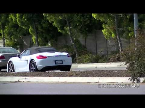 2013 Porsche Boxster on the road