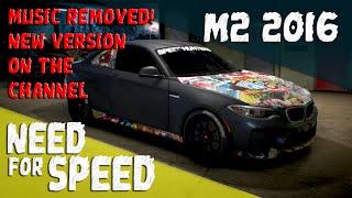 getlinkyoutube.com-Need for Speed 2015 [PS4] - BMW M2 Stickerbomb Customization