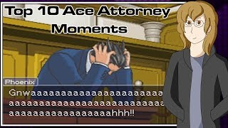 getlinkyoutube.com-Top 10 Ace Attorney Moments