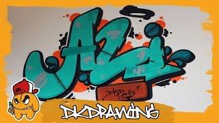 How to draw graffiti names - Ali #31
