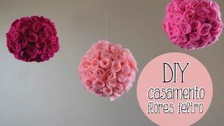 getlinkyoutube.com-Faça você mesmo (DIY) : Bolas de flores