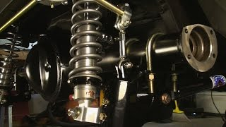 getlinkyoutube.com-Coil Over Rear Suspension for Vintage Mustangs! Total Control Products 4 Bar System for the 71-73
