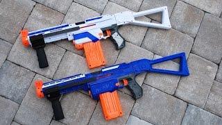 getlinkyoutube.com-[MOD] Nerf Retaliator Modification - Pump Action!